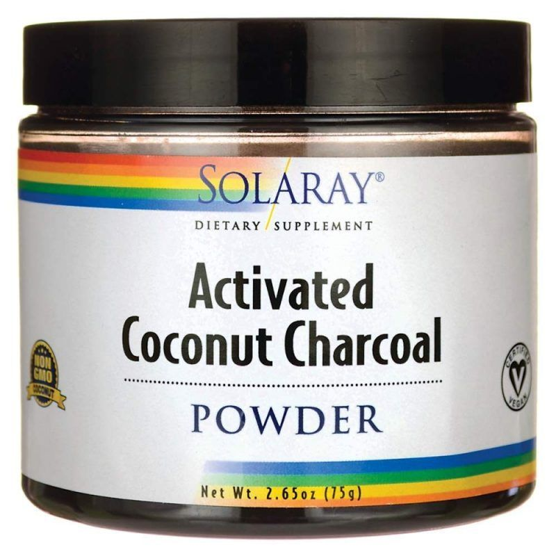 Charcoal Coconut Activated - 150 gr.